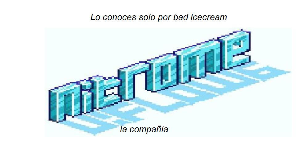 bad icecream era un juego de friv - meme