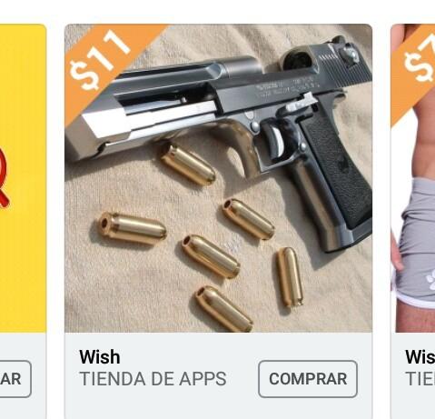 Otras apps: solo podes vender determinados productos,wish: - meme
