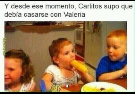 Valeria chupapijas - meme