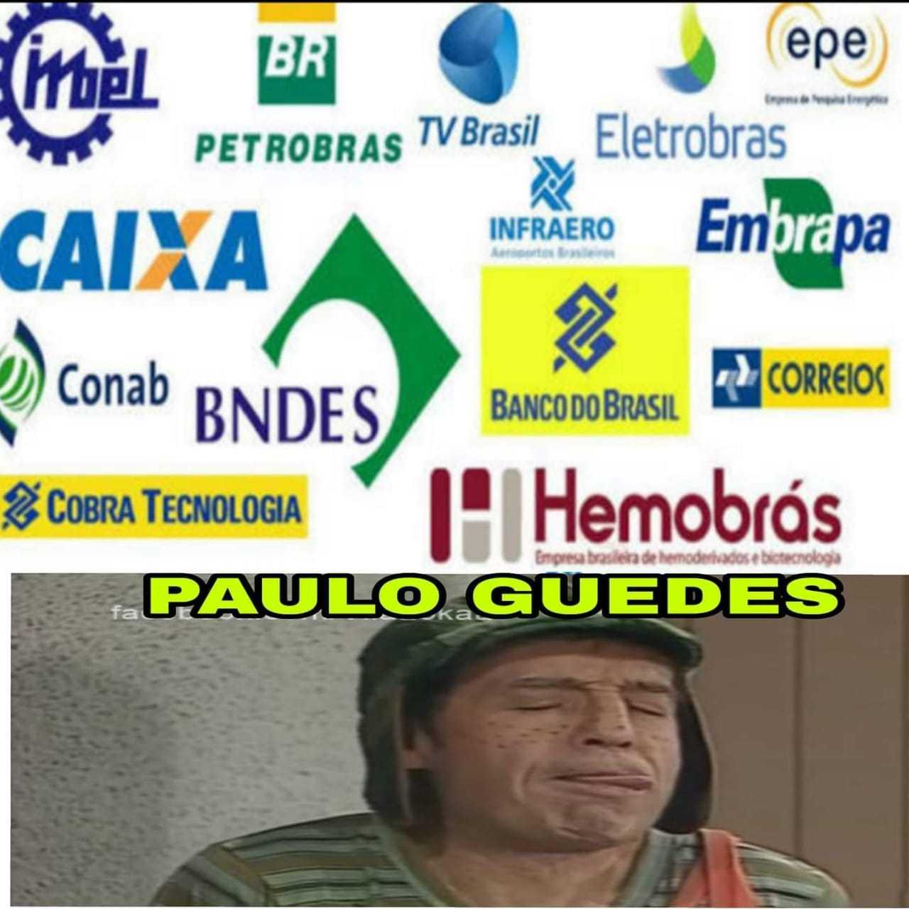 Privatizações! - meme