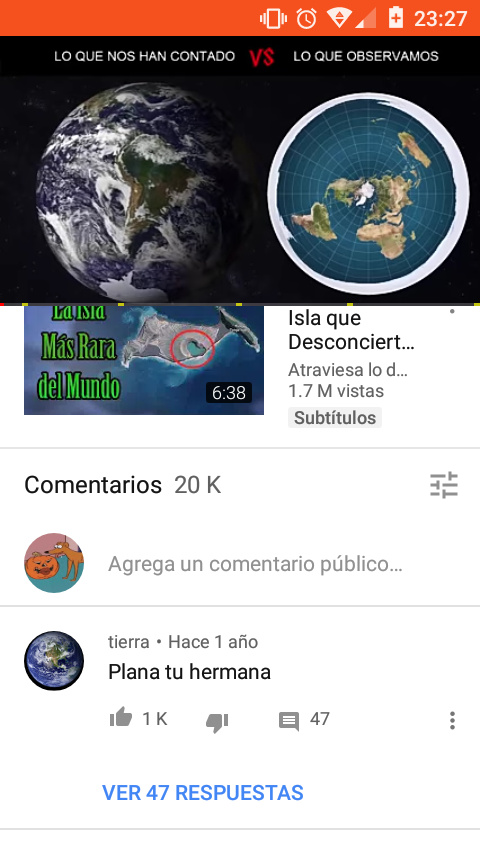 La tierra se enojo :0 - meme