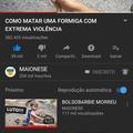O título  foi assistir o vídeo