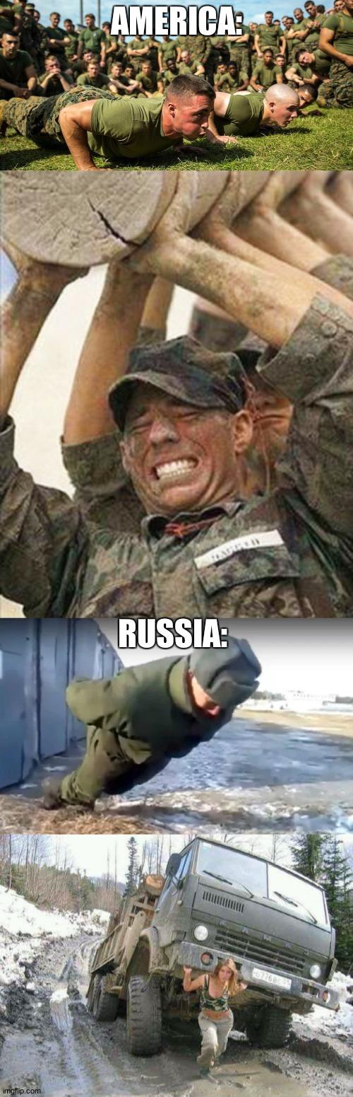 Hail Russia - meme