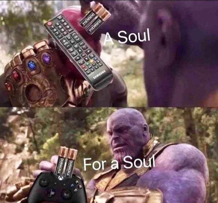 soul for a soul - meme