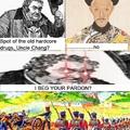 Opium war was dope