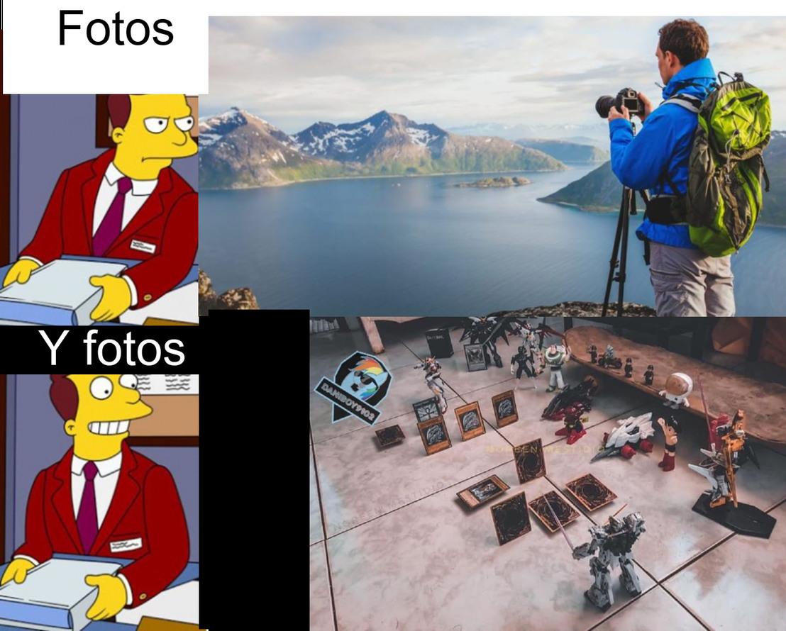 Ame el trabajo de ese wey(El de la segunda foto) - meme