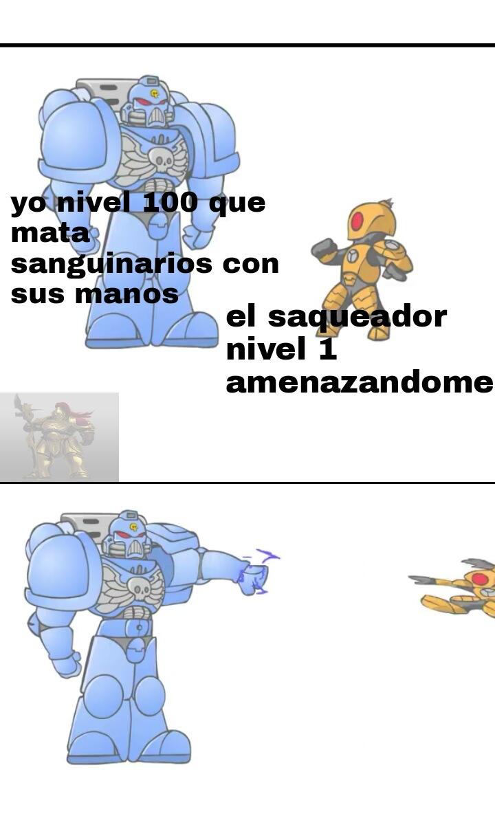 Muerte a los tau - meme