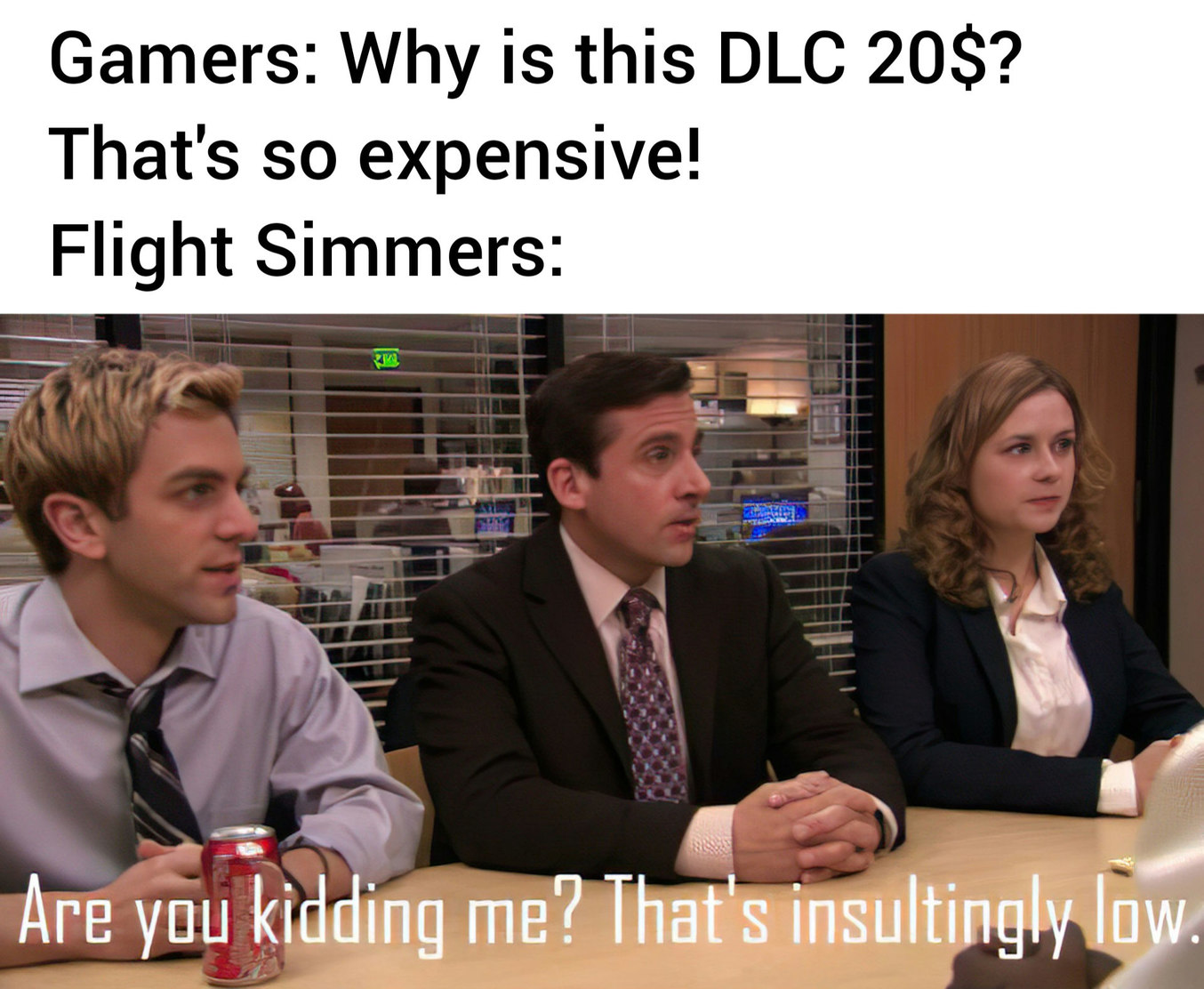 I think I'm broke. - meme