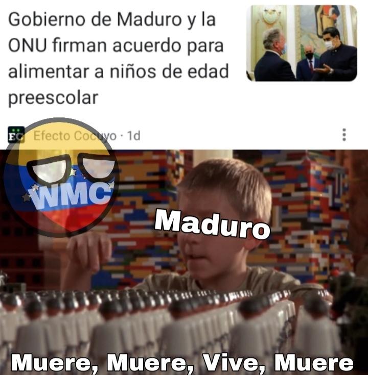 Maldito Maduro - meme