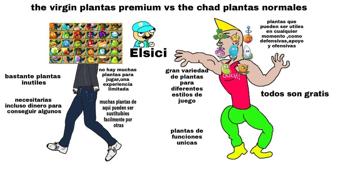 Pvz2 es brad change my mind - meme