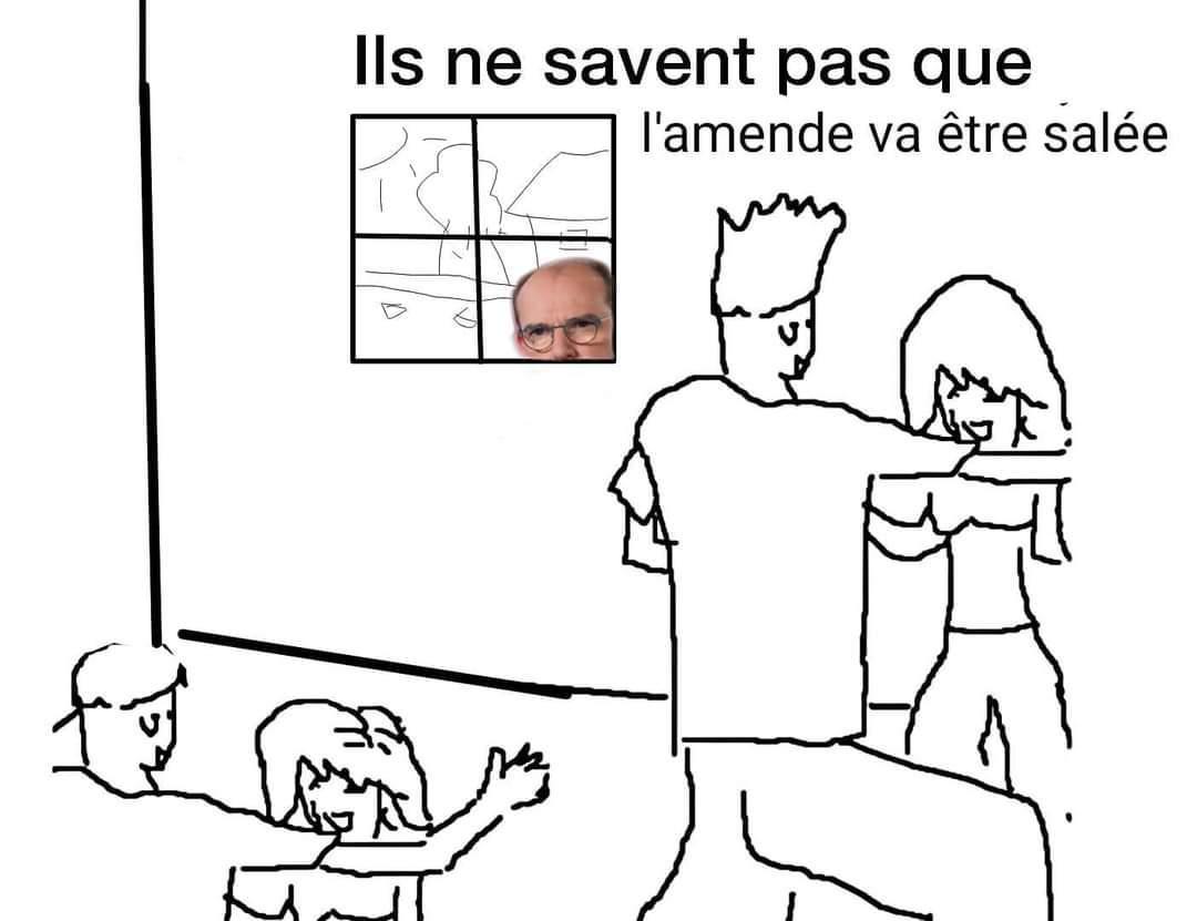 Jean vous regarde ( ͡° ͜ʖ ͡°) - meme