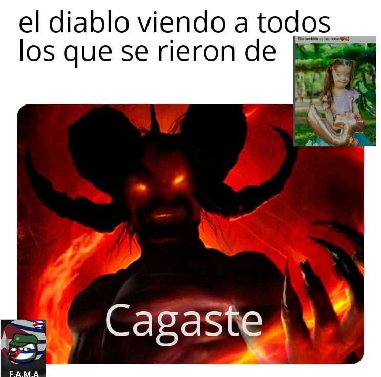 Diablo obtuvo +200 almas - meme