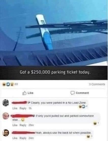 Expensive ticket - meme