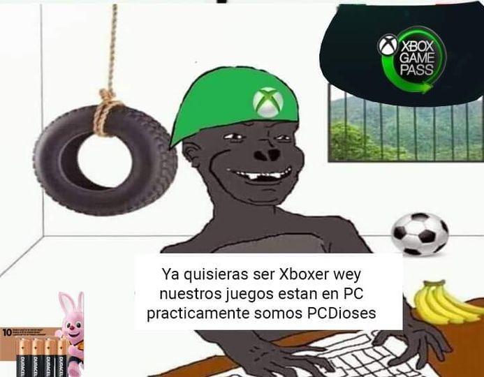 Ser Xboxer - meme
