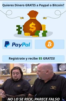 dinero lo creo pero ¿Bitcoins? - meme