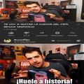 Huele a historia!
