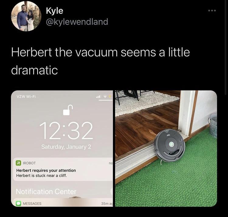 Herbert you bitch - meme
