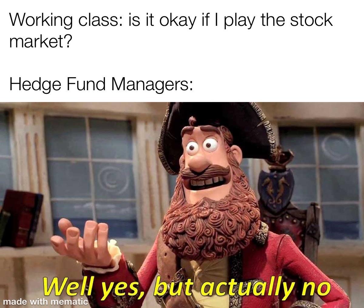 Fuck Wall Street - meme