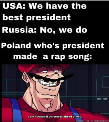 poland is superior - meme