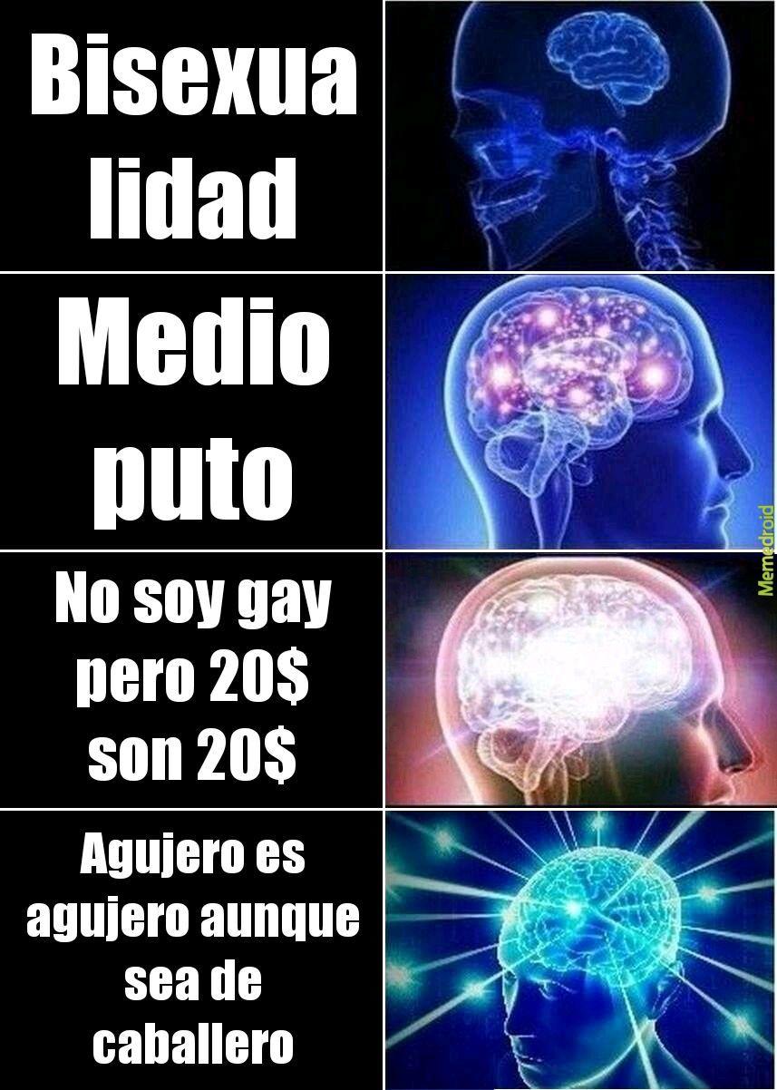 Definición de bisexualidad - meme