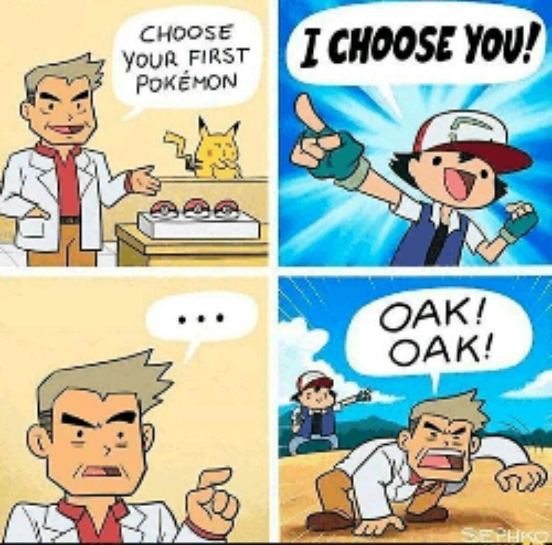 Oak use investigate! - meme