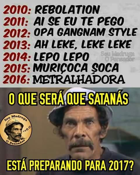 Satanás e vc satanás... - meme
