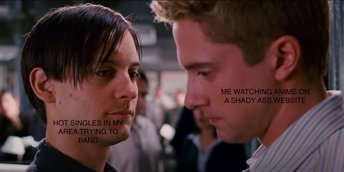 shady weebs - meme