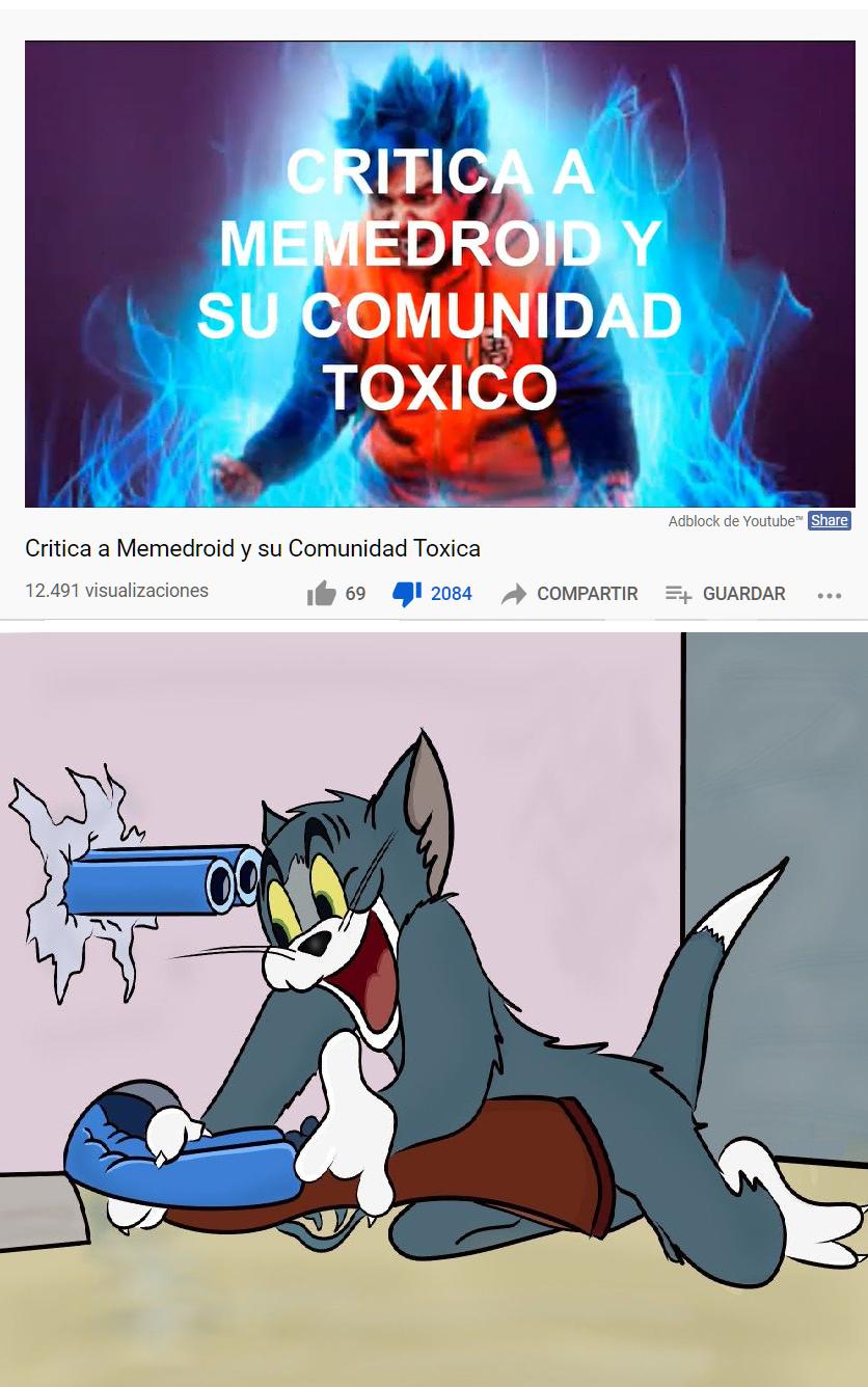 ES UN FAN DE YOLO Y NOS ACUSA DE TOXICOS :V - meme