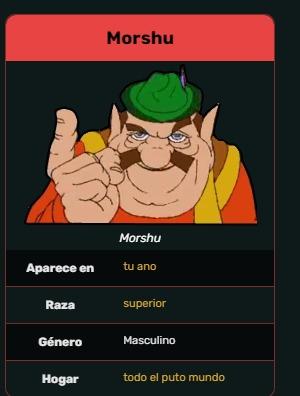morshu es un dios - meme