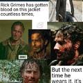 Who's bleaching it? Carl?