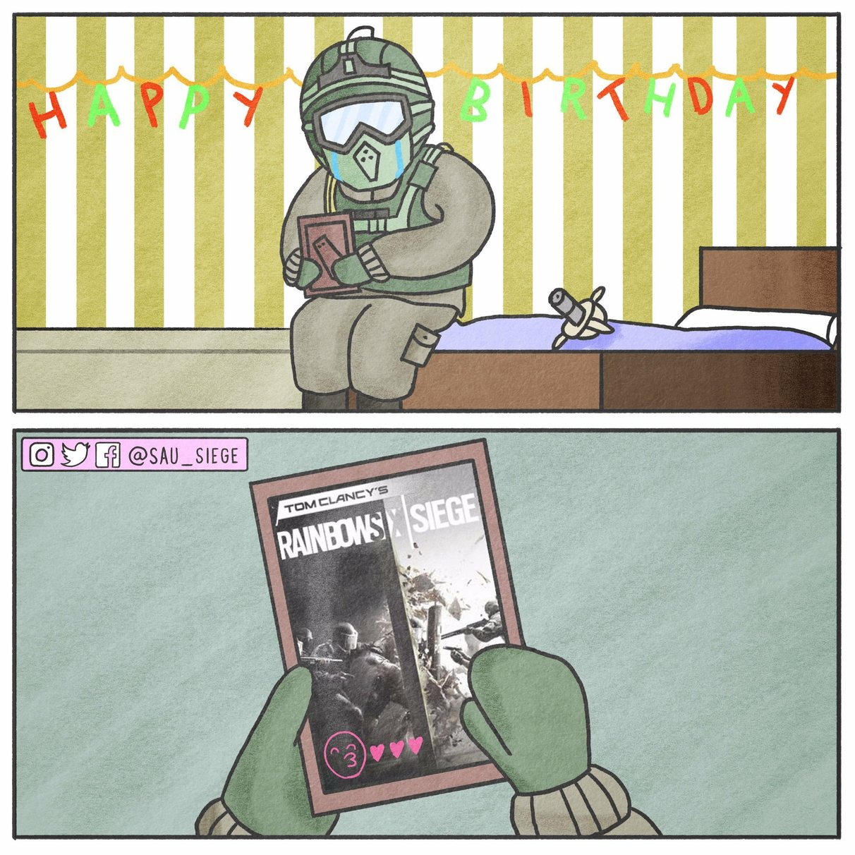 Happy Birthday Rainbow Six Siege!~ - meme