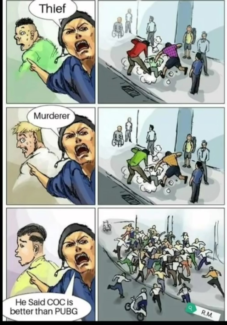 Coc - meme
