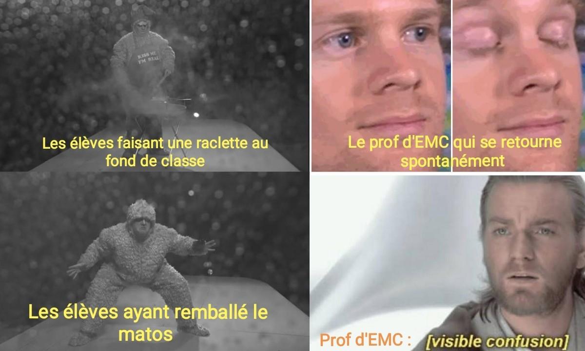 La Sainte Raclette du lundi - meme