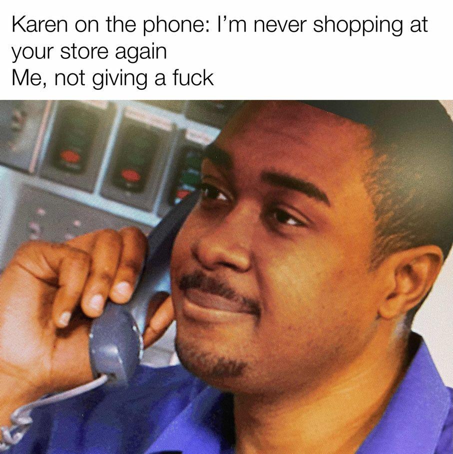 get lost Karen - meme