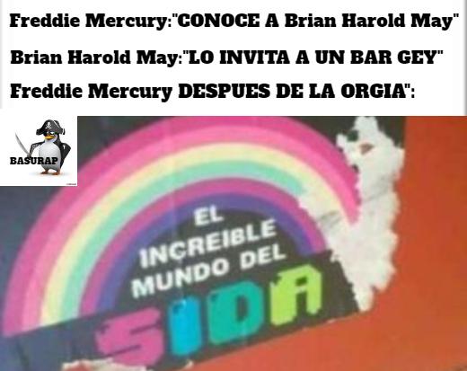 Fredy Mercurio (boemia rapsodia) - meme