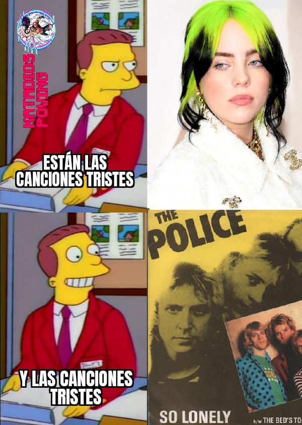 So lonely de the police es un temazo - meme