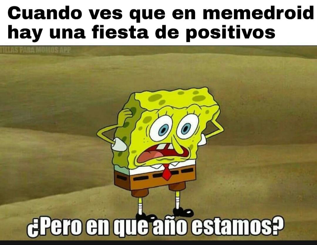 Fiesta de positivos para acabar bien el año (?) - meme