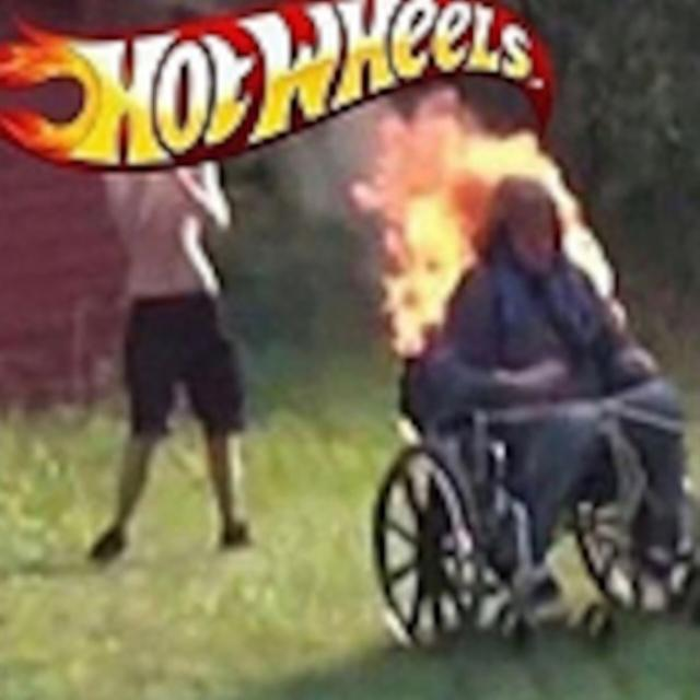Some really hot wheels - meme