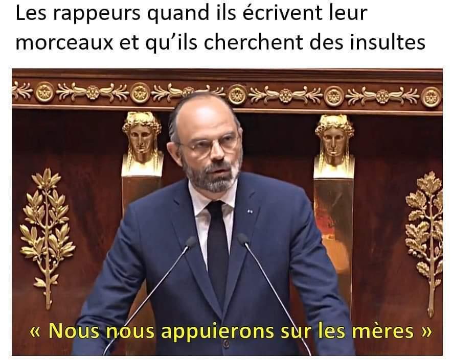 Édouard fait son freestyle - meme