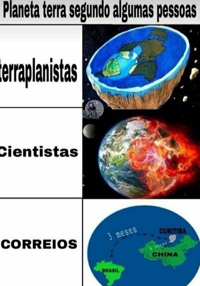 TERRA PARA PESSOAS - meme