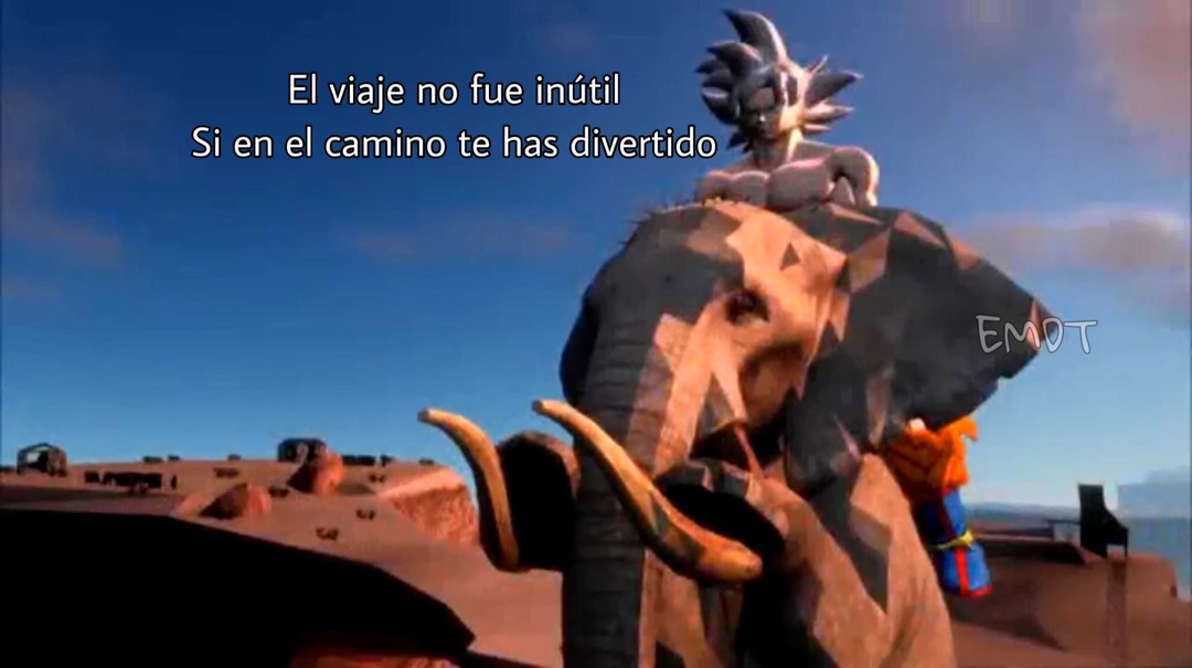 Goku filosófico - meme