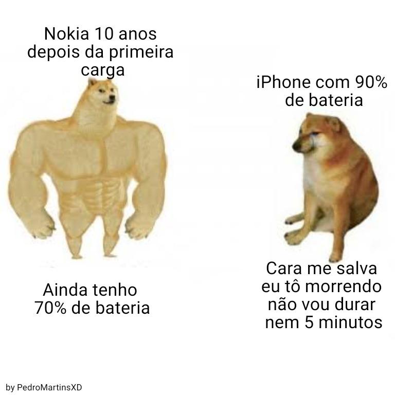 Nokia é superior - meme
