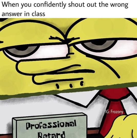 pro retard - meme