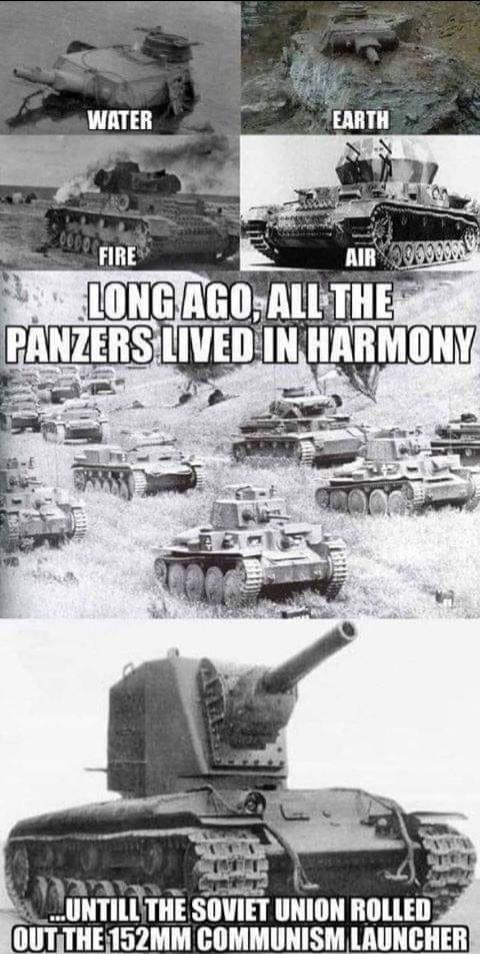 The avatar of the tanks - meme
