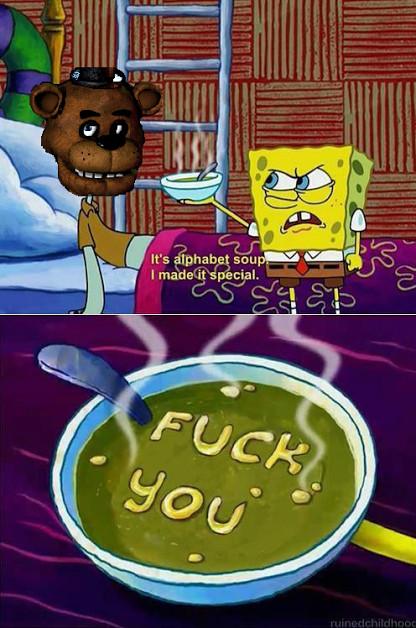 fuck you Freddy - meme