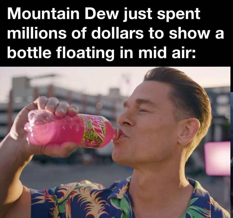 Super Bowl ad - meme