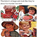 Creepy people were children before they grew up.