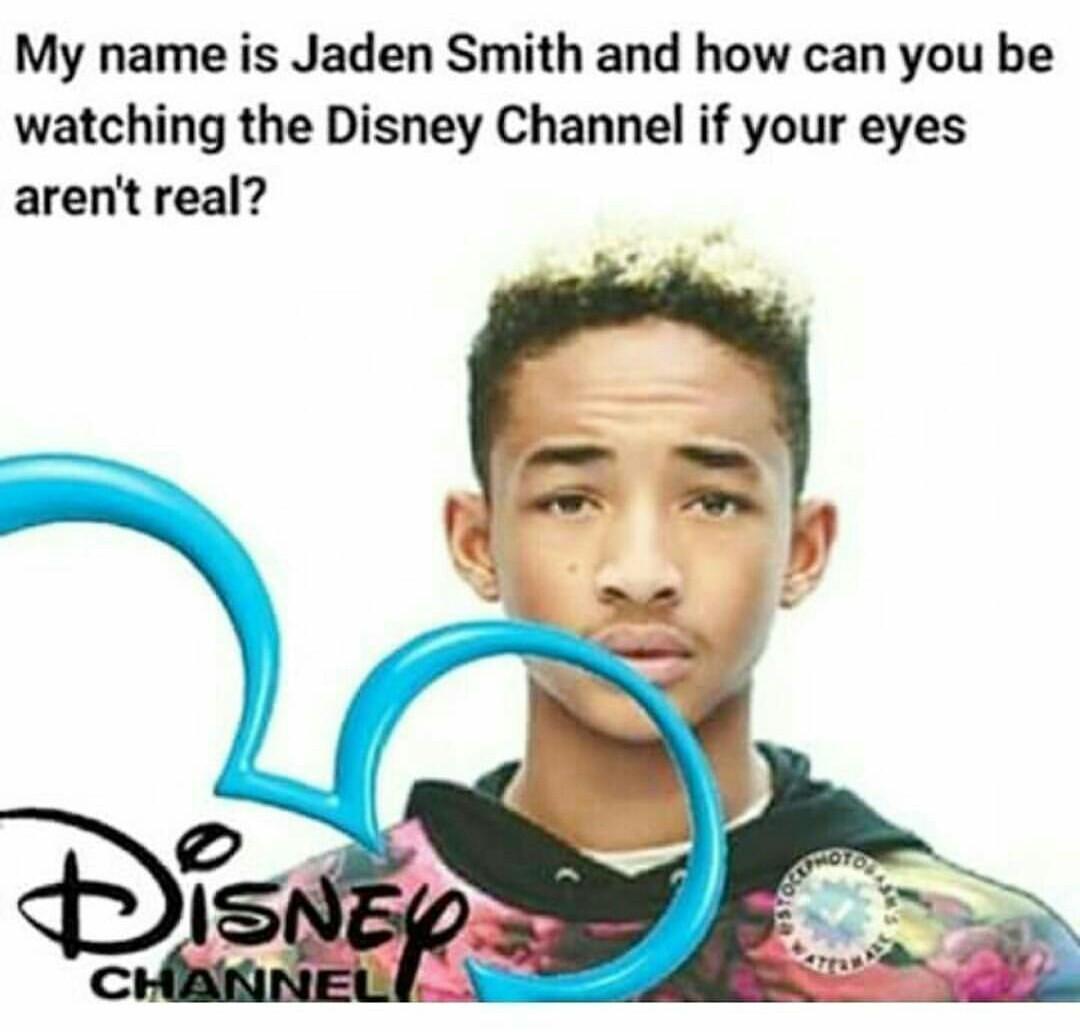 Jaden smith my boi - meme