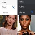 claro/oscuro