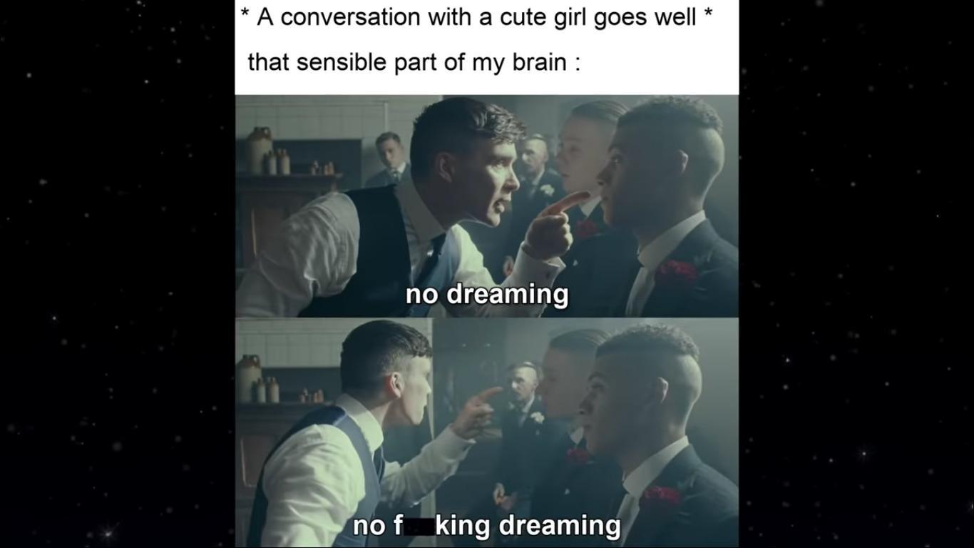 i dreamed ;) - meme